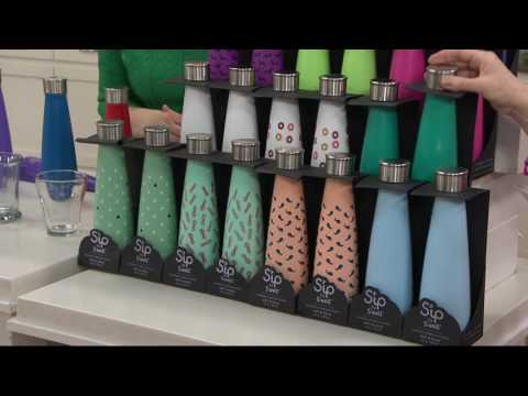 S'ip by S'well Set of 2 15oz Stainless Steel Water Bottles on QVC