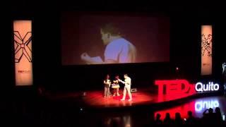 Comedia sin miedo -- comedy without fear   Josema, Paquirri y el Shafa   TEDxQuito