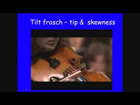 Anders Askenfelt - Violin bows and bowing - action and gestures