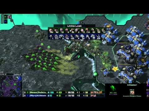 Lillekaning vs Zhugeliang StarCraft 2 WCS Longest match (Part 2)