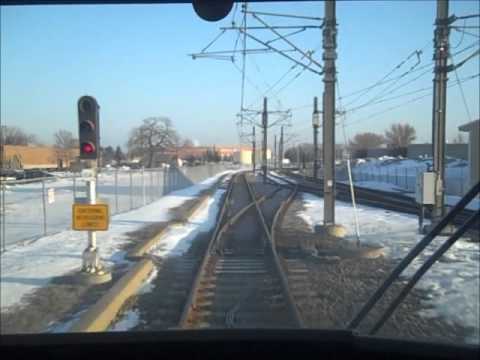 Riding Hiawatha Light Rail: Target Field to Mall of America,