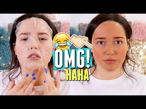 TESTING A SELF TANNING FACE MASK 👀 Does It Work?!