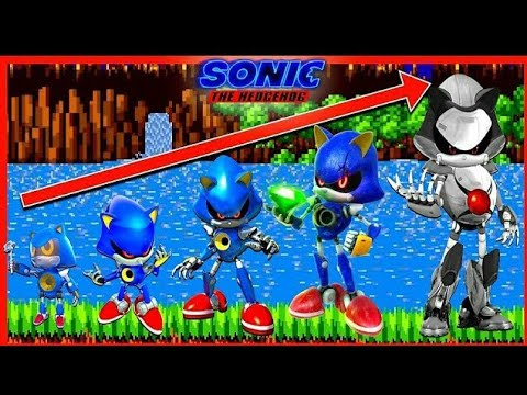 Metal Sonic The Hedgehog Movie 2 Growing Up Compilation X Youtube