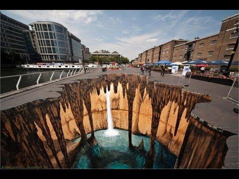 Best Of 3D Street Arts Painting – Top 20 3D Street Art