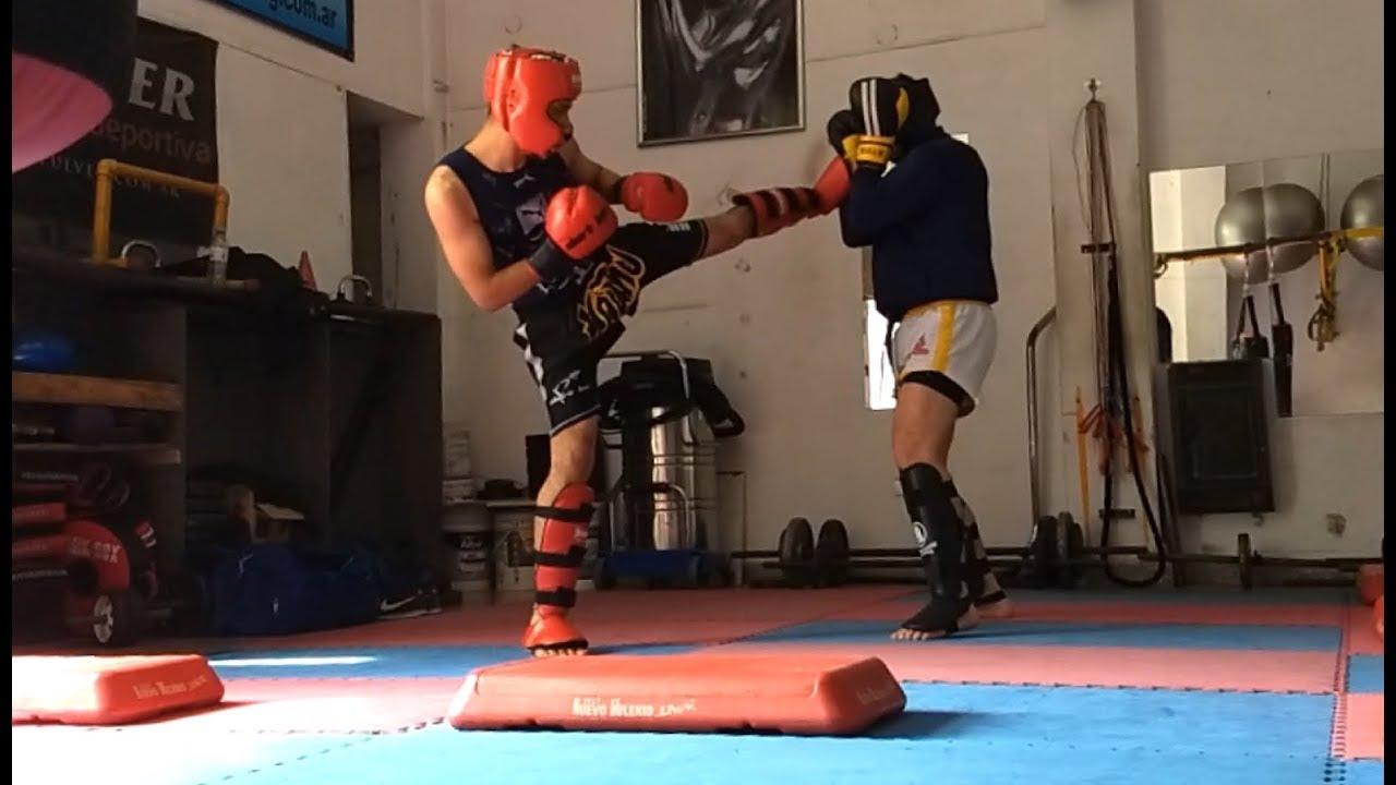 Kick boxing / Lucas Lopez Vs. Diego Tula