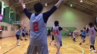 2018/06/30 尾瀬カップ(B) vs.松原団地オールスターズ 第1・2Q