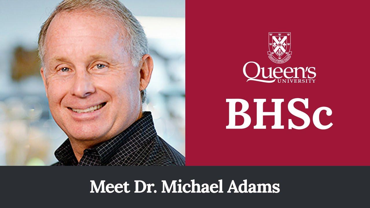 Meet Dr Michael Adams