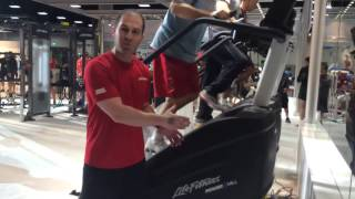 From the Floor: PowerMill Climber at IHRSA 2014