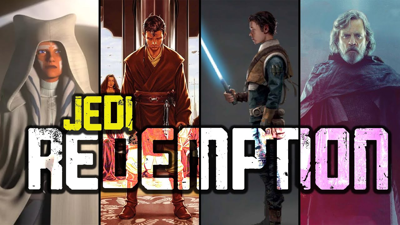 4 JEDI Who Redeemed the Sins of the ORDER