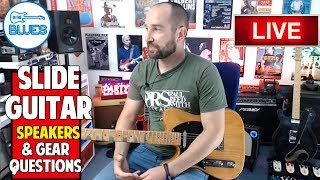 INTHEBLUES LIVE STREAM | Ask Me Guitar Questions
