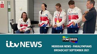 Tokyo 2020 Paralympians in Aylesbury - ITV News