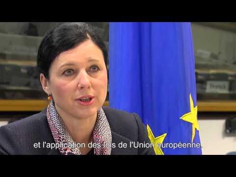 Paroles de... Vera Jourova, Commissaire européenne