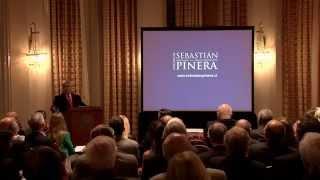 Tercer aniversario de LyP: Disertación de Sebastián Piñera