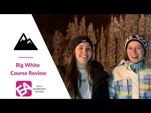 Ski Instructor Course Review | Katie And Midge In Big White, Canada.