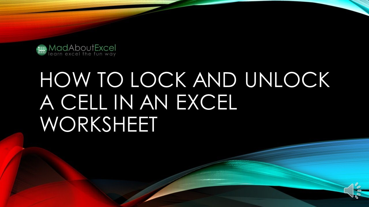 How to lock and unlock a cell in an excel worksheet youtube how to lock and unlock a cell in an excel worksheet robcynllc Image collections