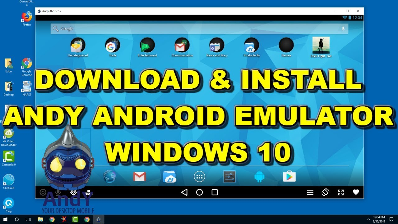 download windows 10 os for android