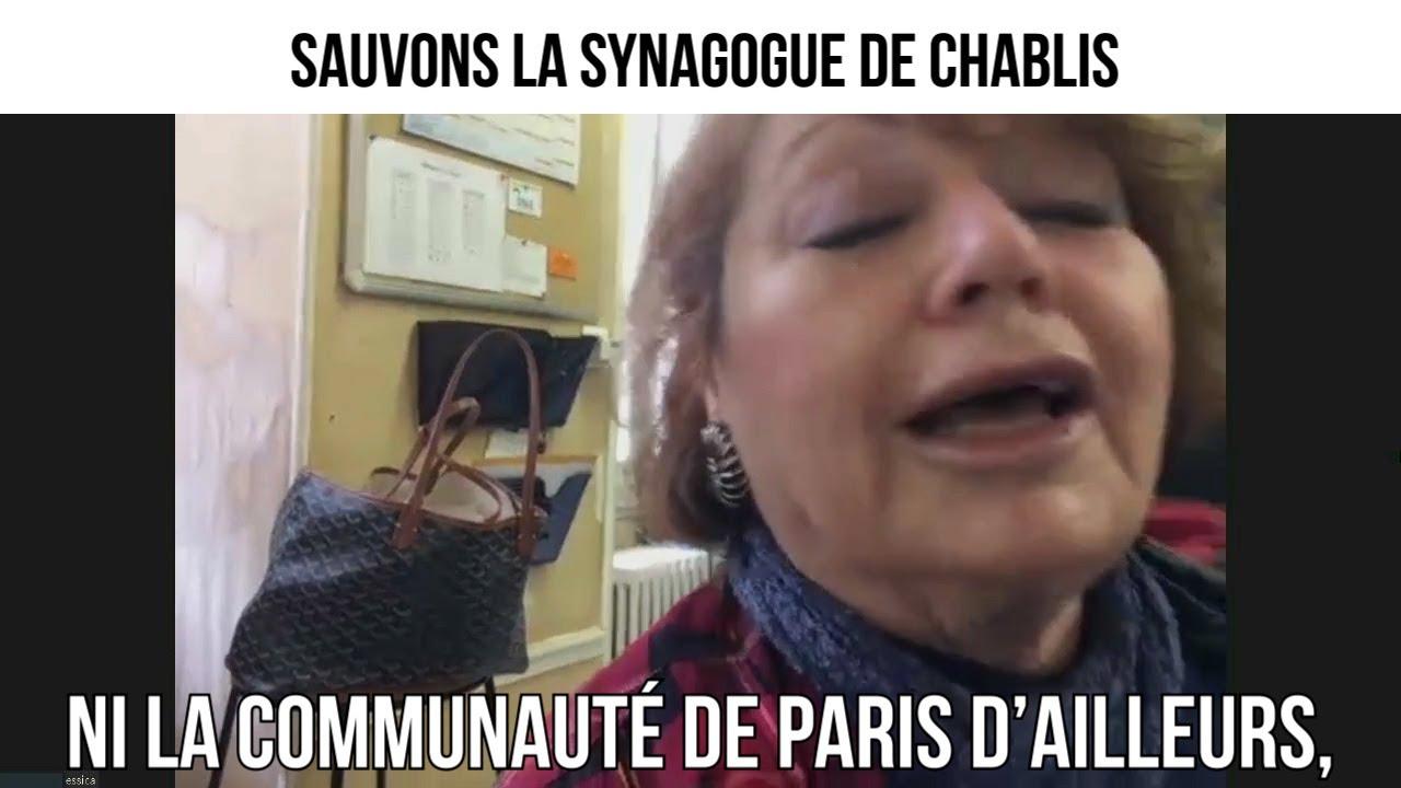 Sauvons la synagogue de Chablis - CDP#315