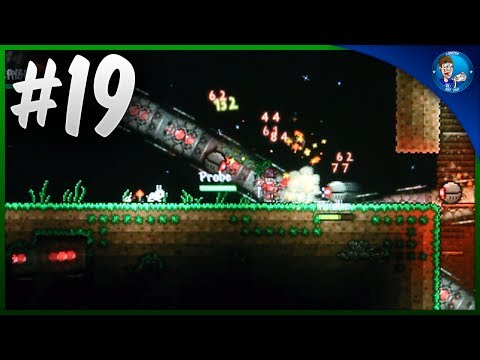 Terraria PSVITA #19 - MULTIPLAYER - The Destroyer and Ocram!