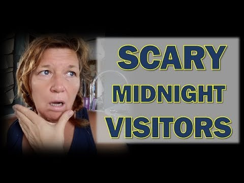 Camping Alone: Scary Visitors Show up in the middle of the Night