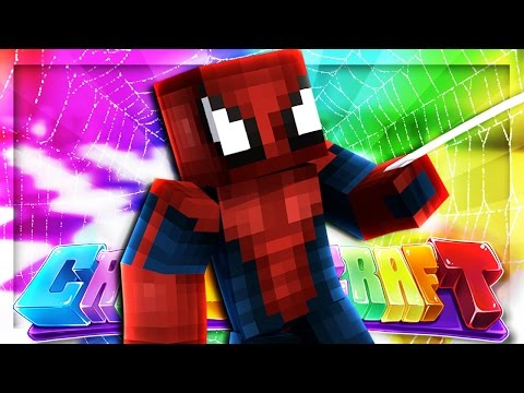 SPIDERMAN SUIT! | CrazierCraft Modded SMP #38