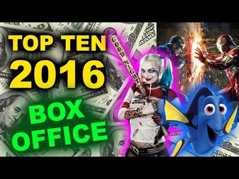 Top Ten Movies Of 2016  Box Office  Youtube