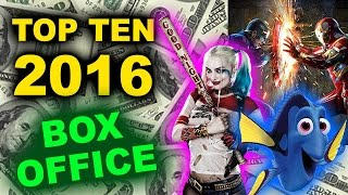 Top Ten Movies of 2016 - Box Office