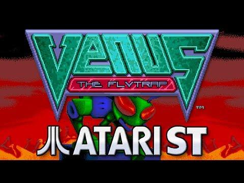Venus The Flytrap  - Quick Look - Atari ST