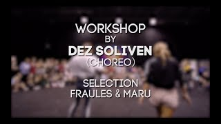 DEZ SOLIVEN WORKSHOP - Fraules & Maru in da SIBPROKACH 2018