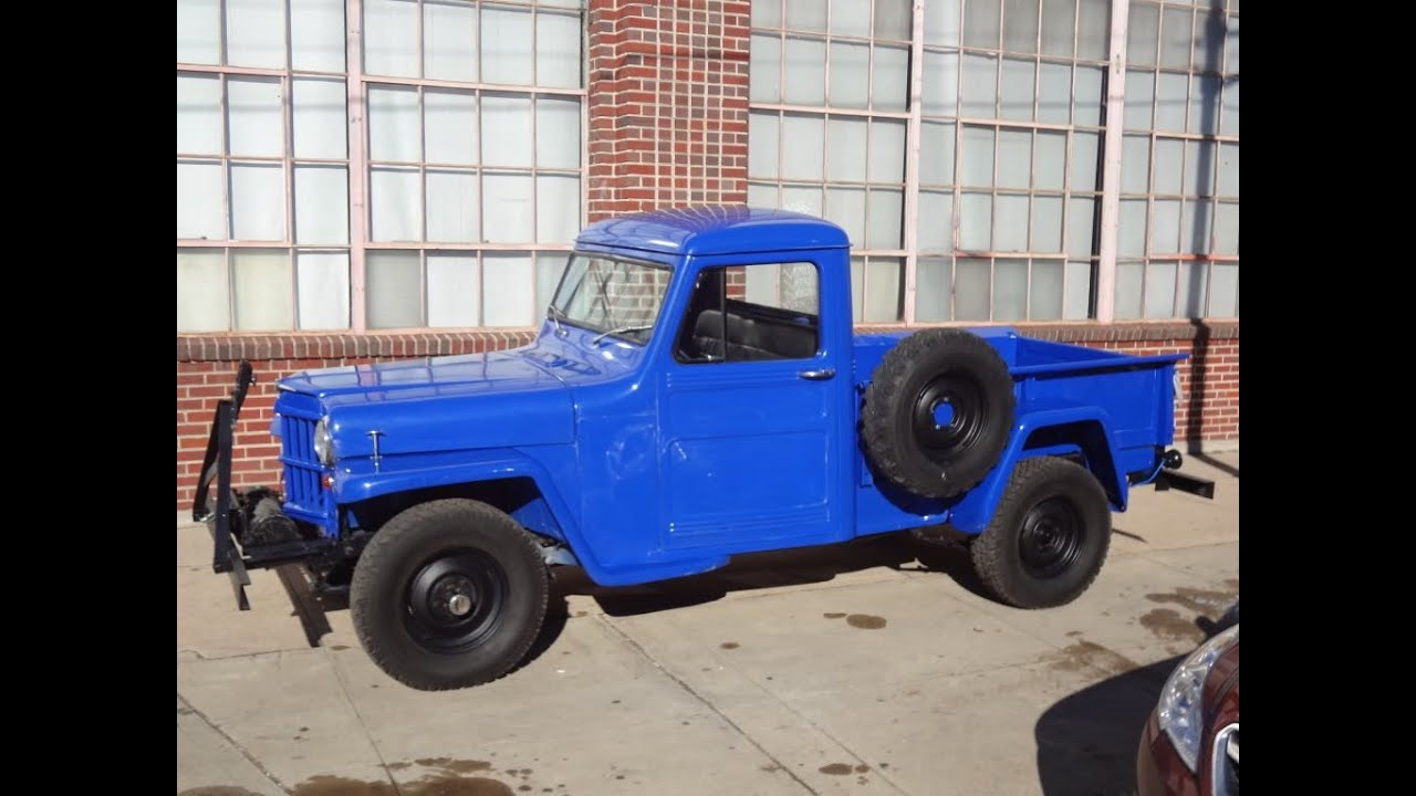 1960 Willys Pickup 4x4 Frame Off Restored Youtube