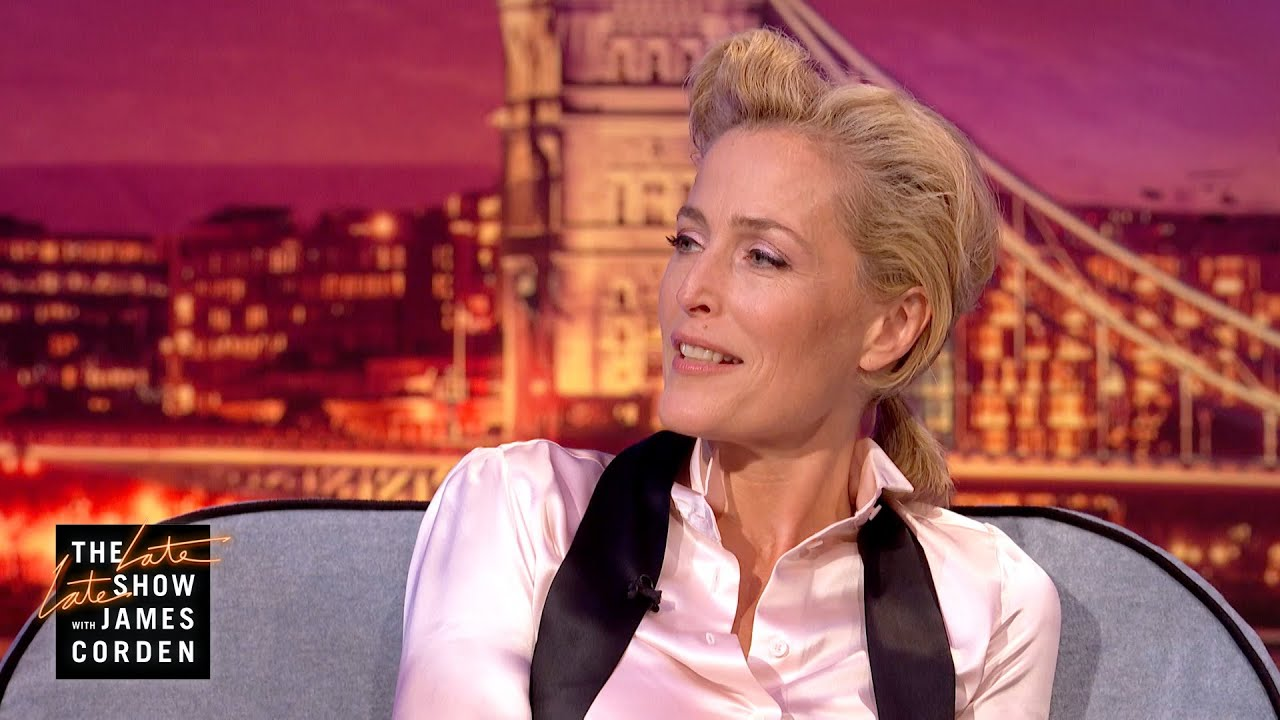 Gillian Anderson Is Finding #PenisOfTheDay Pics in Nature - #LateLateLondon