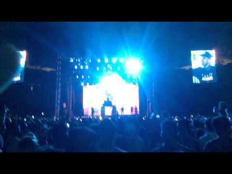 Maluma y Nicky Jam en concierto poliedro de caracas suena caracas 2015
