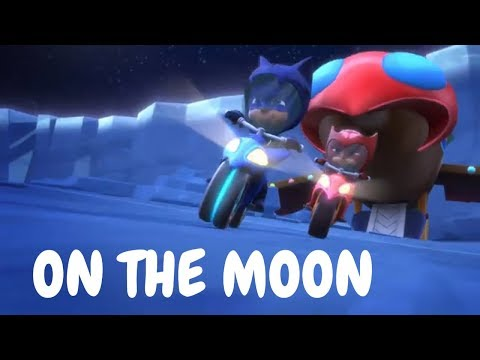 PJ Masks Season 2 Full Episodes 🚀 Moonstruck Race To The Moon