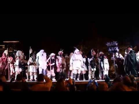 Himno de la Montaña  -  Desfile Carnavales Tradicionales de la Provincia en León 04/03/2014