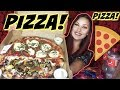 PIZZA PIZZA PIZZA AND RANCH DUH MUKBANG VEGAN BURPIING