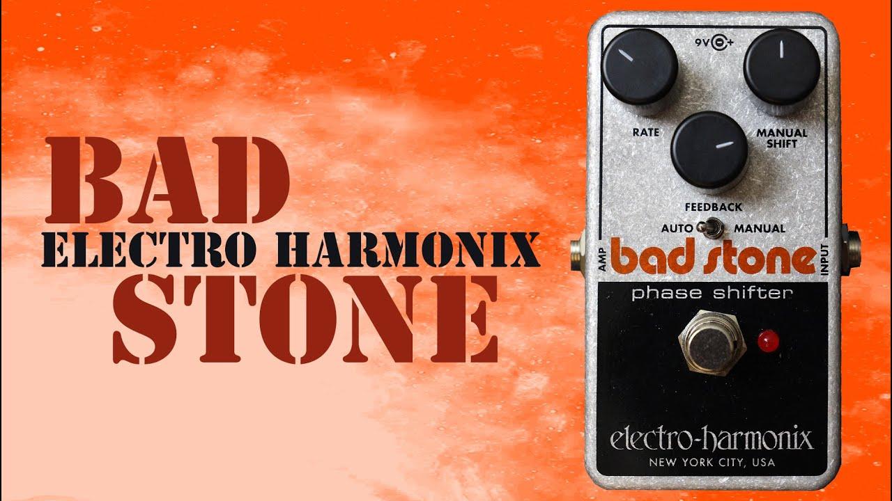 electro harmonix bad stone phaser pedal demo youtube. Black Bedroom Furniture Sets. Home Design Ideas