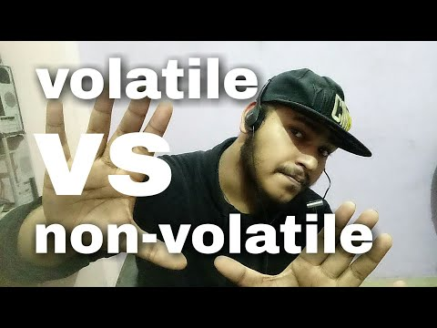 Volatile Vs Non Volatile Memory | Explained | HINDI