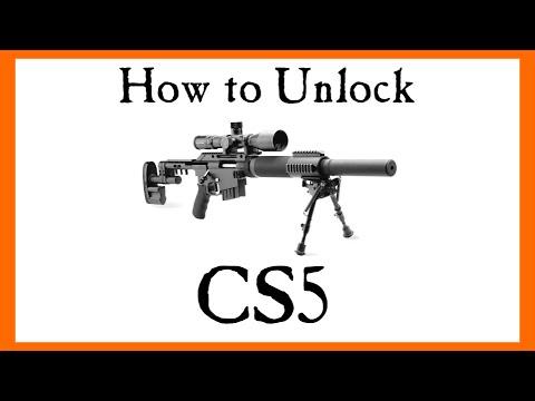 Battlefield 4 - How to Unlock The CS5... A Pointless Gun?