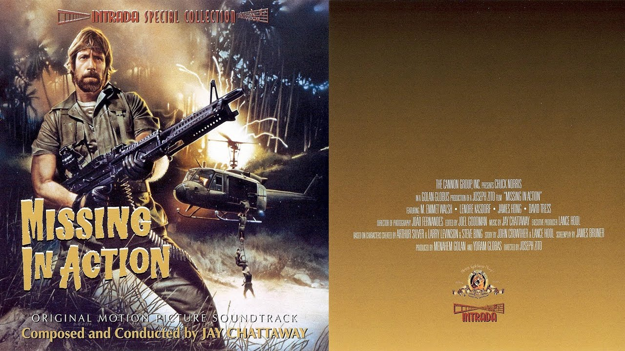 ♫ [1984] Missing In Action U2022 Jay Chattaway ▭ № 01   U0027u0027Main Titleu0027u0027   YouTube  Missing In Action Poster