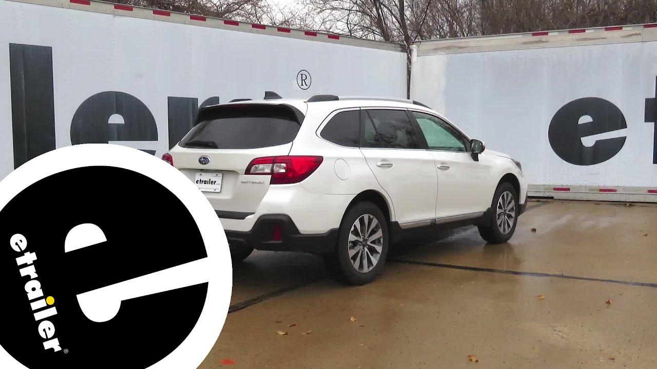 Hopkins Trailer Wiring Harness Installation - 2019 Subaru Outback Wagon on