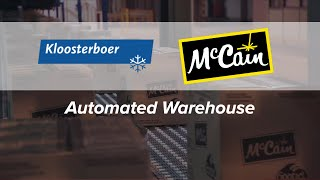 Kloosterboer McCain Automated Warehouse