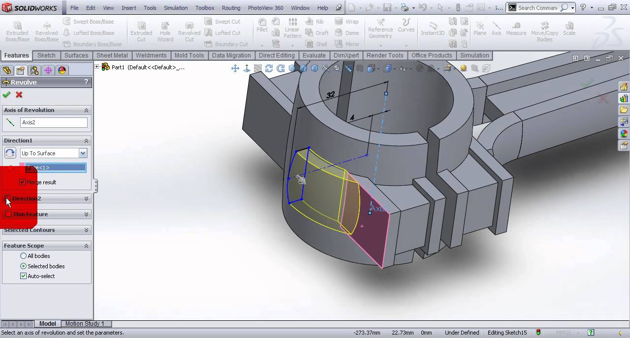 video tutorial on modeling connecting rod of gasoline engine in video tutorial on modeling connecting rod of gasoline engine in solidworks part 1
