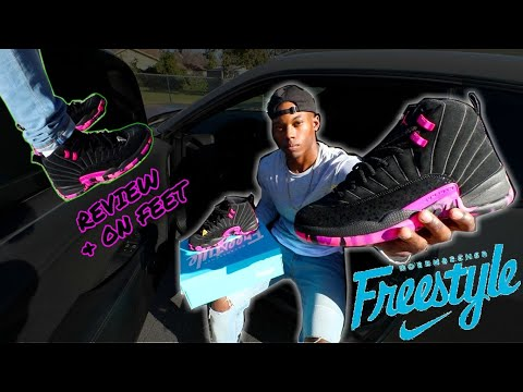 best sneakers c3e25 89e2f DOERNBECHER x AIR JORDAN 12 | DESIGNED BY CARISSA NAVARRO *REVIEW & ON FEET*