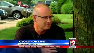 Daughter rides for father who died from leukemia