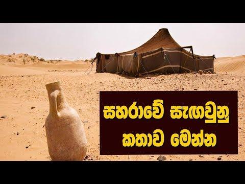 සහරාවේ සැඟවුණු කතාව මෙන්න - Strange Things Found in the Sahara