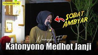 Kartonyono Medot Janji - Denny Caknan (Nungki Cover) Lirik Lagu Kartonyono Medot Janji - Cipt Denny Caknan Kok kebangeten men, Sambat belas raono ...