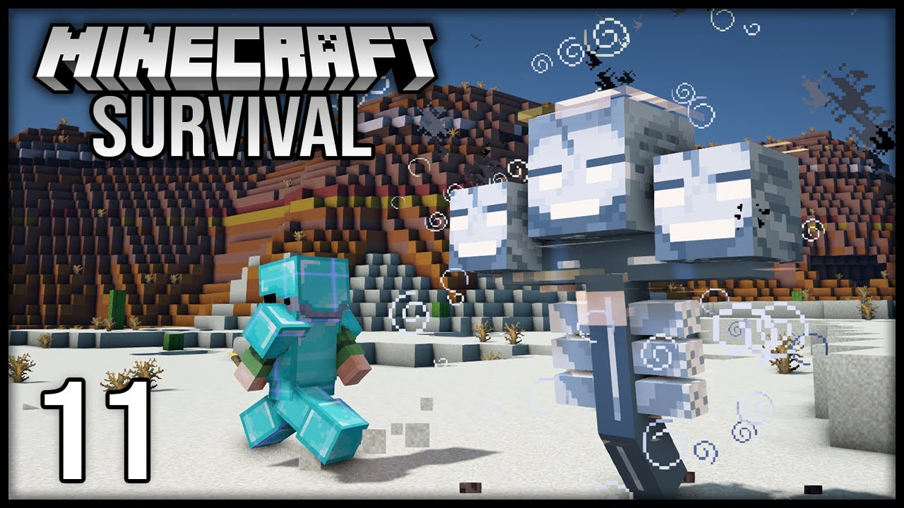 Minecraft 1.17 Survival Let's Play - Episode 11 - Battling THE WITHER!