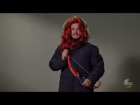 Как Кит Харингтон пробовался на разные роли в Игре престолов