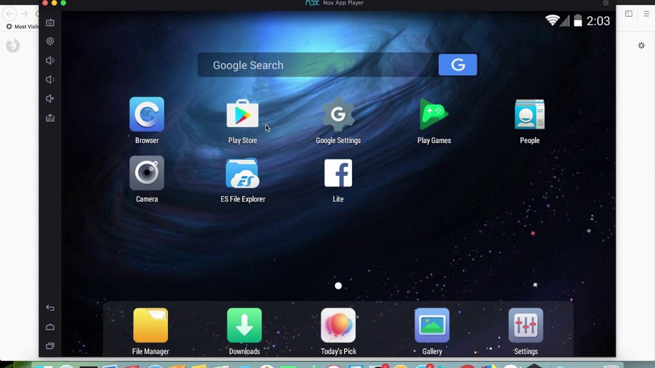 nox app player for linux mint