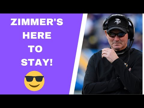 Vikings and Mike Zimmer finalizing contract extension