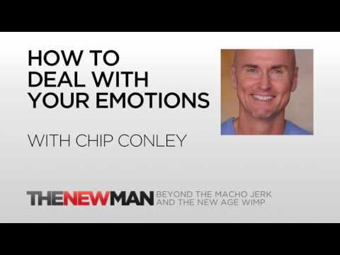 Chip Conley | How To Deal With Anxiety And Other Emotions | The New Man Podcast with Tripp Lanier